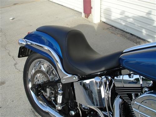 Custom Motorcycle Seat 1999 2015 Softail Deuce Custom
