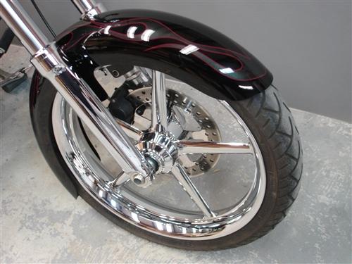 Harley Softail Fenders : Harley davidson softail rocker and c custom fender