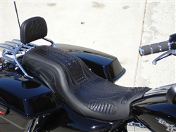 2009 - 2019 Harley Davidson Street Glide and CVO FLHX Two Up Custom Seat
