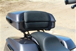 Two Piece Custom Backrest for Harley Davidson Tour Packs