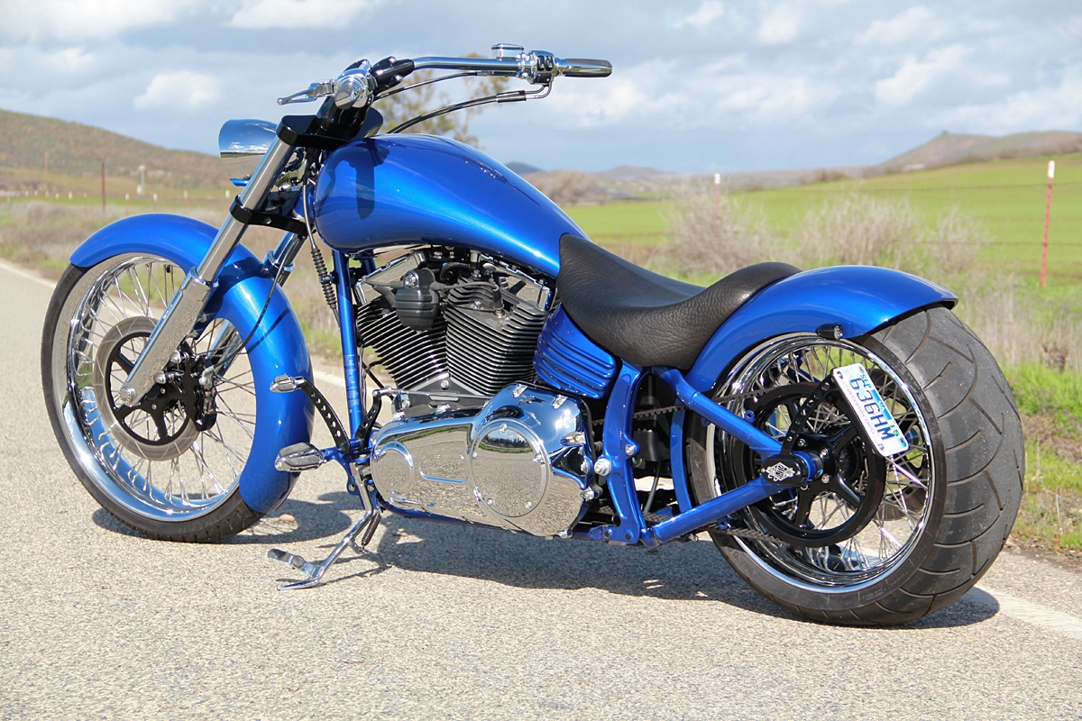 Harley Davidson Rocker Custom Seat