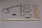 Harley Davidson License Plate Relocation Kit
