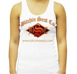 Simple White Women's Tank