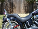 Custom Two Up Seat for the Harley Davidson Rocker and Rocker C FXCW FXCWC