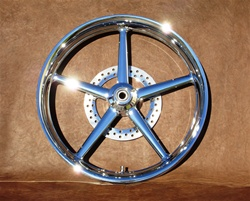 "23"" x 3.75"" Front Rocker and Rocker C Replica Billet Wheel"