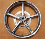 "21"" x 3.25"" Front Rocker and Rocker C Replica Billet Wheel"