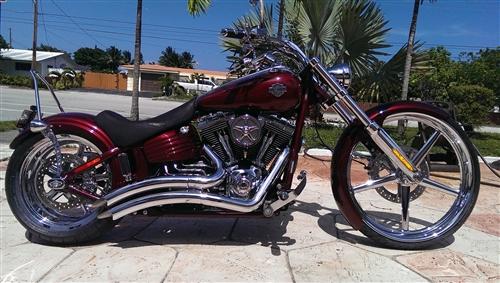 Front End Kit For Harley Davidson Rocker And Rocker C 26 X