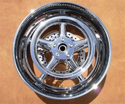 "18"" x 8.5"" Rear Rocker and Rocker C Replica Billet Wheel"